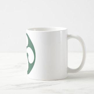 Cross extruded Basque Classic White Coffee Mug
