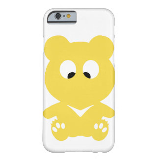 Cross Eyed BEAR Barely There iPhone 6 Case