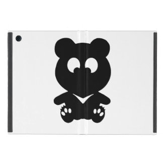 Cross Eyed BEAR Covers For iPad Mini