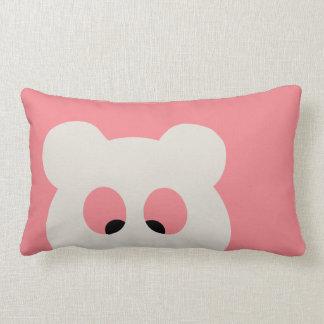 Cross Eyed BEAR Lumbar Pillow