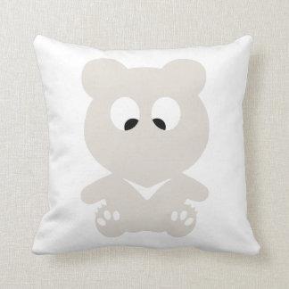 Cross Eyed BEAR Throw Pillow