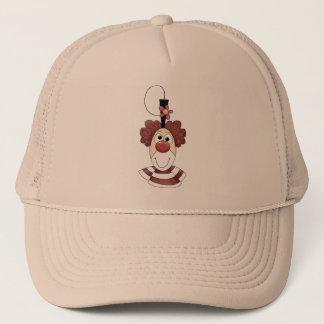 Cross-eyed Circus Clown Trucker Hat