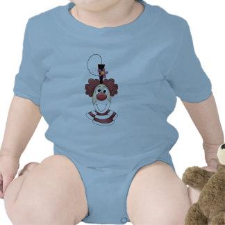 Cross-eyed Circus Clown Tshirts