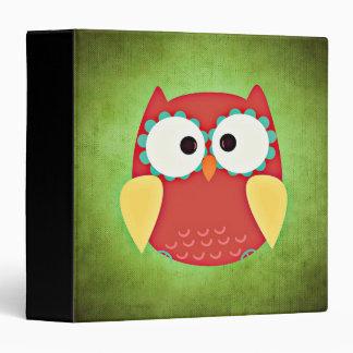 Cross Eyed Owl Binder