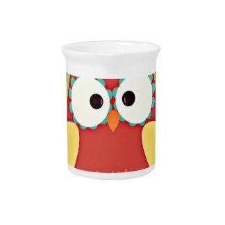 Cross Eyed Owl Drink Pitchers