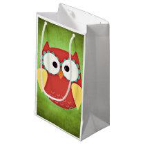Cross Eyed Owl Small Gift Bag