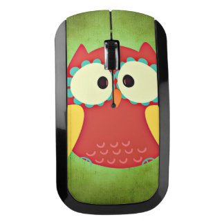 Cross Eyed Owl Wireless Mouse