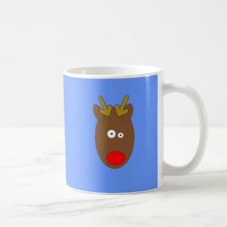 Cross eyed Reindeer Mug