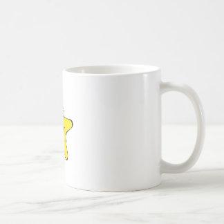 Cross Eyed Star Cartoon Coffee Mug