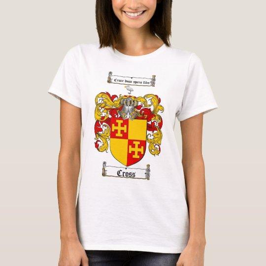 CROSS FAMILY CREST -  CROSS COAT OF ARMS T-Shirt