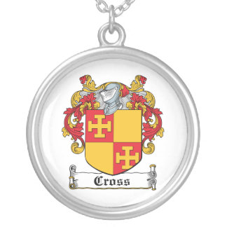 Cross Family Crest Necklace