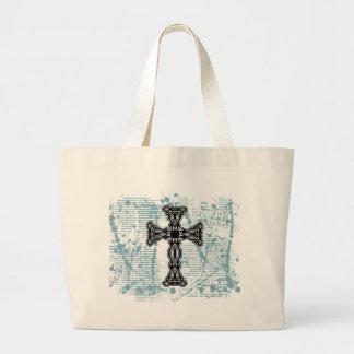 Cross fancy black solid bg bag