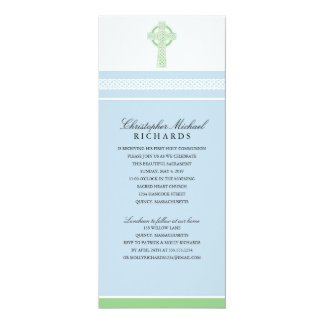 Cross First Holy Communion Card