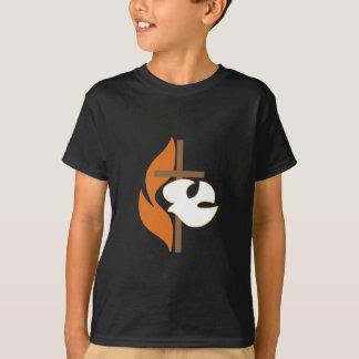 Cross Flame & Dove T-Shirt