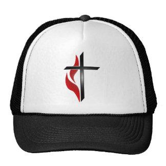 CROSS & FLAME TRUCKER HAT
