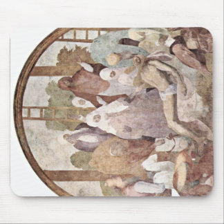 Cross Fragment By Pontormo Jacopo Mousepads