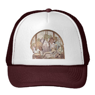 Cross Fragment By Pontormo Jacopo Trucker Hat