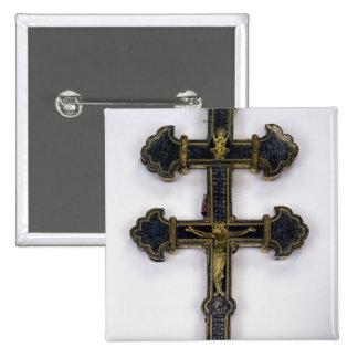 Cross, from Clairmarais Abbey Pinback Button