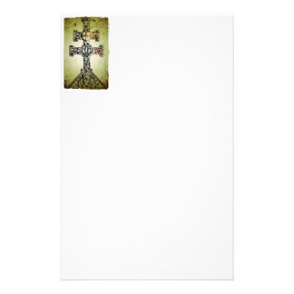 Cross from St. Martin, Limoges Stationery Paper