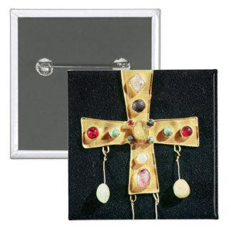 Cross, from the Torredonjimeno Treasure Pinback Button