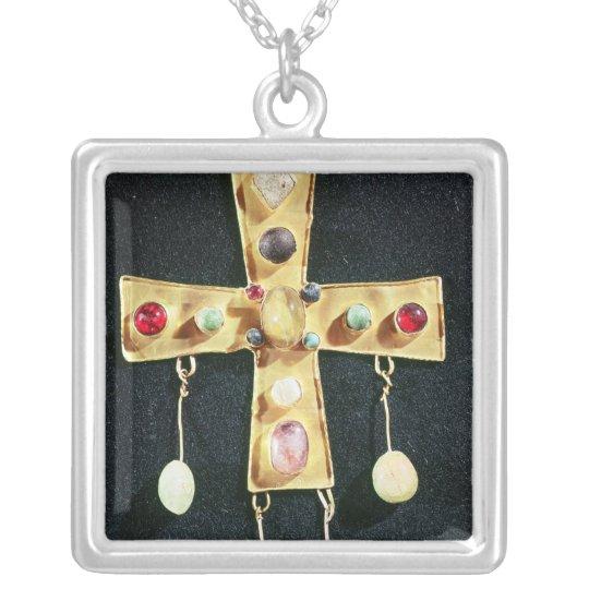 Cross, from the Torredonjimeno Treasure Silver Plated Necklace