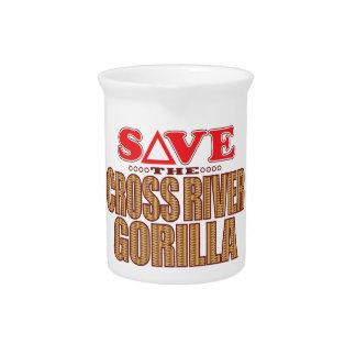 Cross Gorilla Save Drink Pitcher
