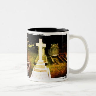 Cross Gravestone Mug