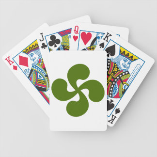 Cross Green Basque Bicycle Playing Cards