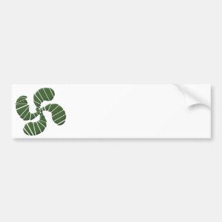 Cross Green Basque Bumper Sticker