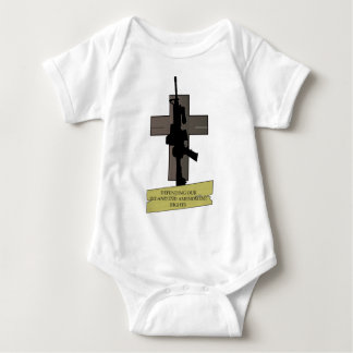 Cross & Gun Baby Bodysuit