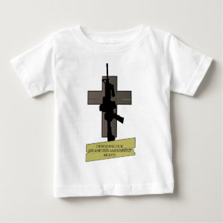 Cross & Gun Baby T-Shirt