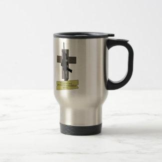 Cross & Gun Coffee Mug