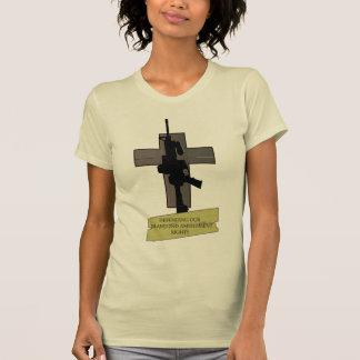 Cross & Gun Tee Shirt
