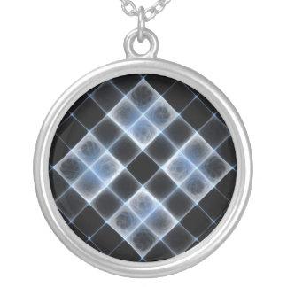 Cross Hatch Gnarl Fractal Necklace