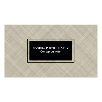 Cross Hatching Texture Double-Sided Standard Business Cards (Pack Of 100)