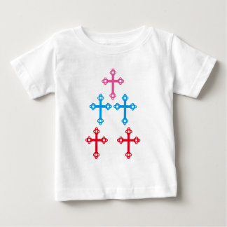 CROSS Healing Holy sparkle Christianity Baby T-Shirt