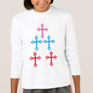 CROSS Healing Holy sparkle Christianity T-Shirt
