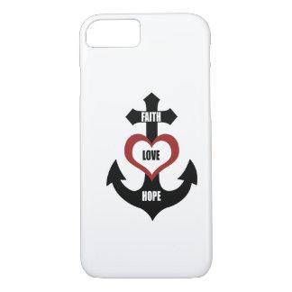 Cross Heart Anchor iPhone 7 case