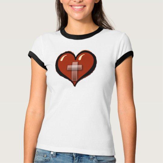 Cross/Heart T-Shirt