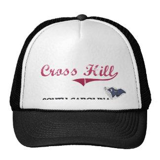 Cross Hill South Carolina City Classic Mesh Hats