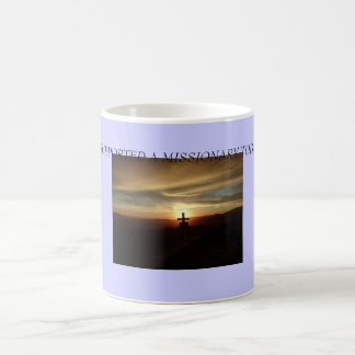 cross, I SUPPORTED A MISSIONARY TODAY! Coffee Mug
