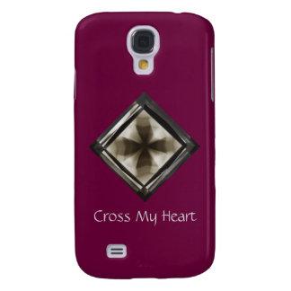 Cross in Diamond® Christian Design Samsung Cover