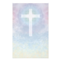 Cross in Sky stationery