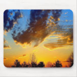 Cross in the Clouds Mouse Pad