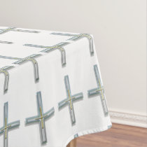 Cross in the Faith Tablecloth