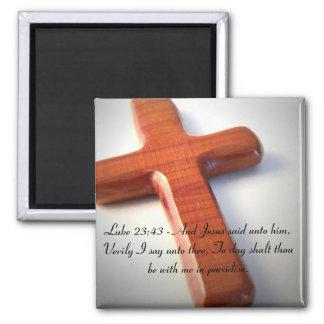Cross Inspirational Magnet Magnet