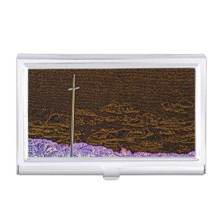 cross invert st augustine sketch landscape business card holders