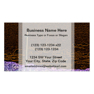 cross invert st augustine sketch landscape Double-Sided standard business cards (Pack of 100)