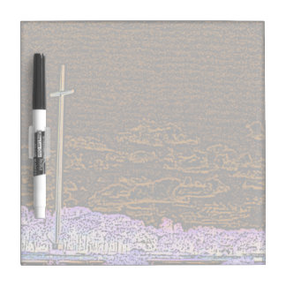 cross invert st augustine sketch landscape Dry-Erase boards