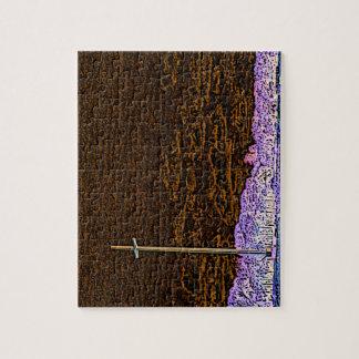 cross invert st augustine sketch landscape puzzle